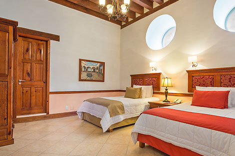 Double Room - Casa Leal Hotel in Patzcuaro