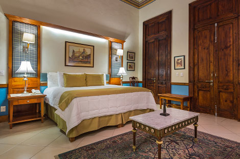 Junior Suite - Casa Leal Hotel in Patzcuaro
